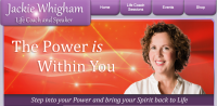 Jackie Whigham - Life Coach and Speaker