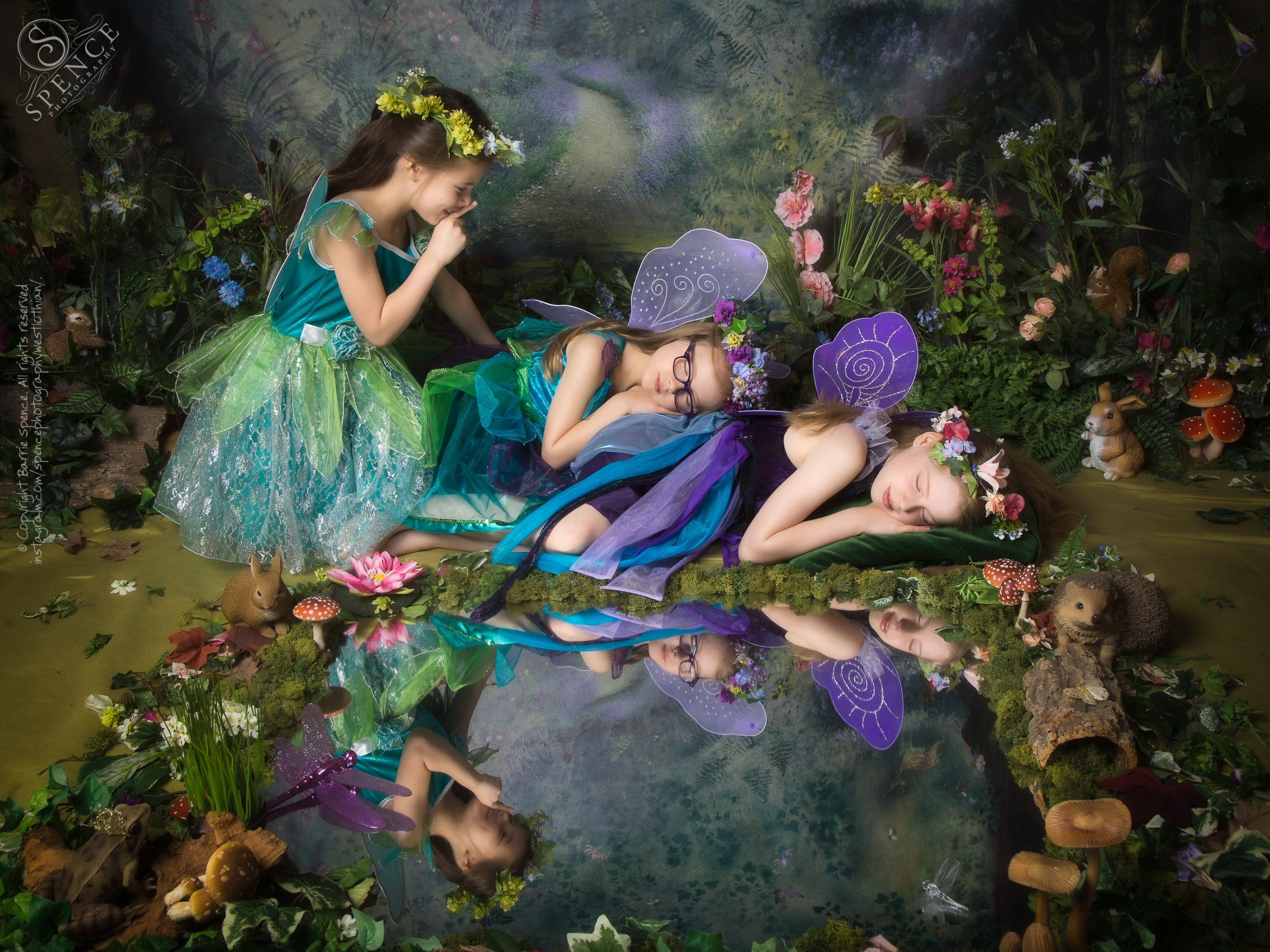 Luciana, Sienna, Chianna - The Fairy Experience @ Spence Photography