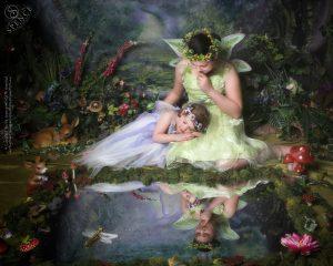 Zoe and Hannah - The Fairy Experience @ Spence Photography
