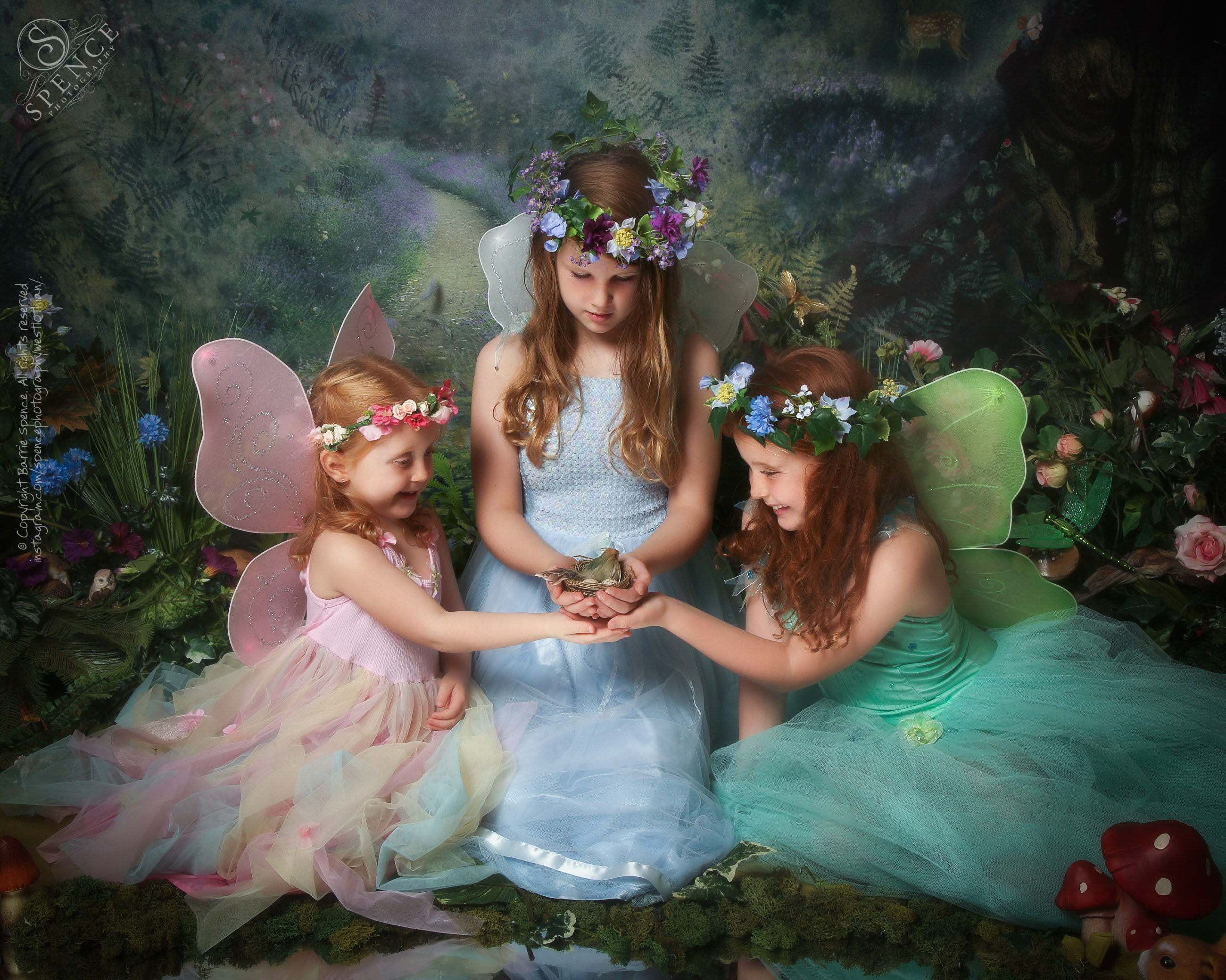Melissa, Mirren & Elise  - The Fairy Experience @ Spence Photography